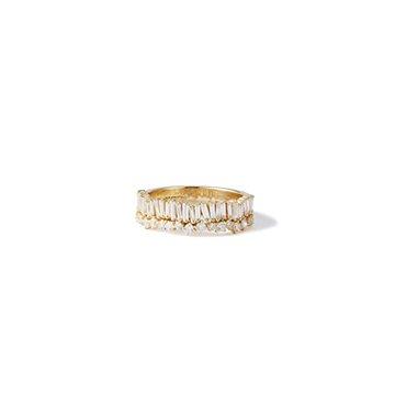 Suzanne Kalan Baguette Diamond Ring $3,500