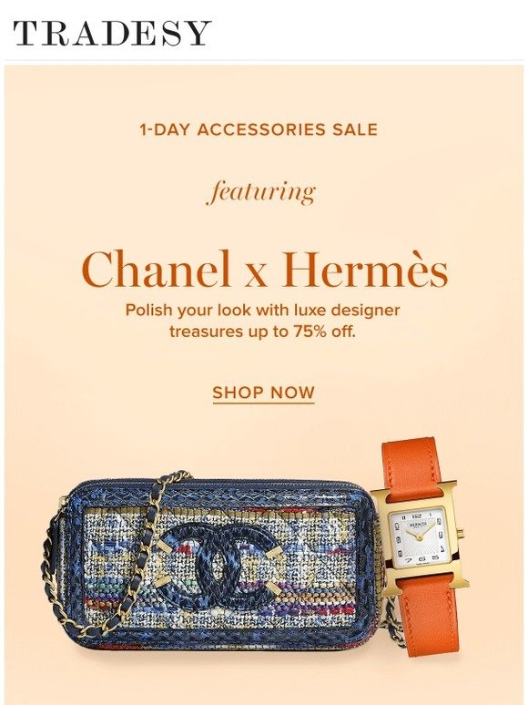 Tradesy  Today-Only Sale  Chanel x Hermès Accessories  1469fc954e583