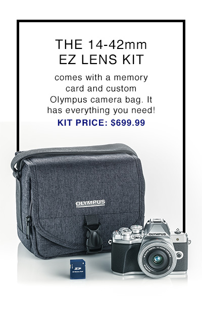 THE 14-42 EZ LENS KIT | KIT PRICE $699.99