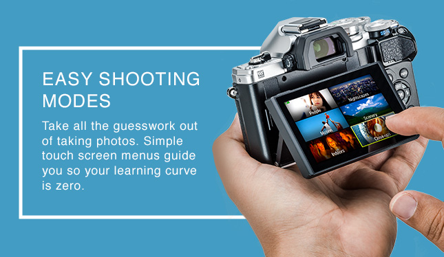 EASY SHOOTING MODES