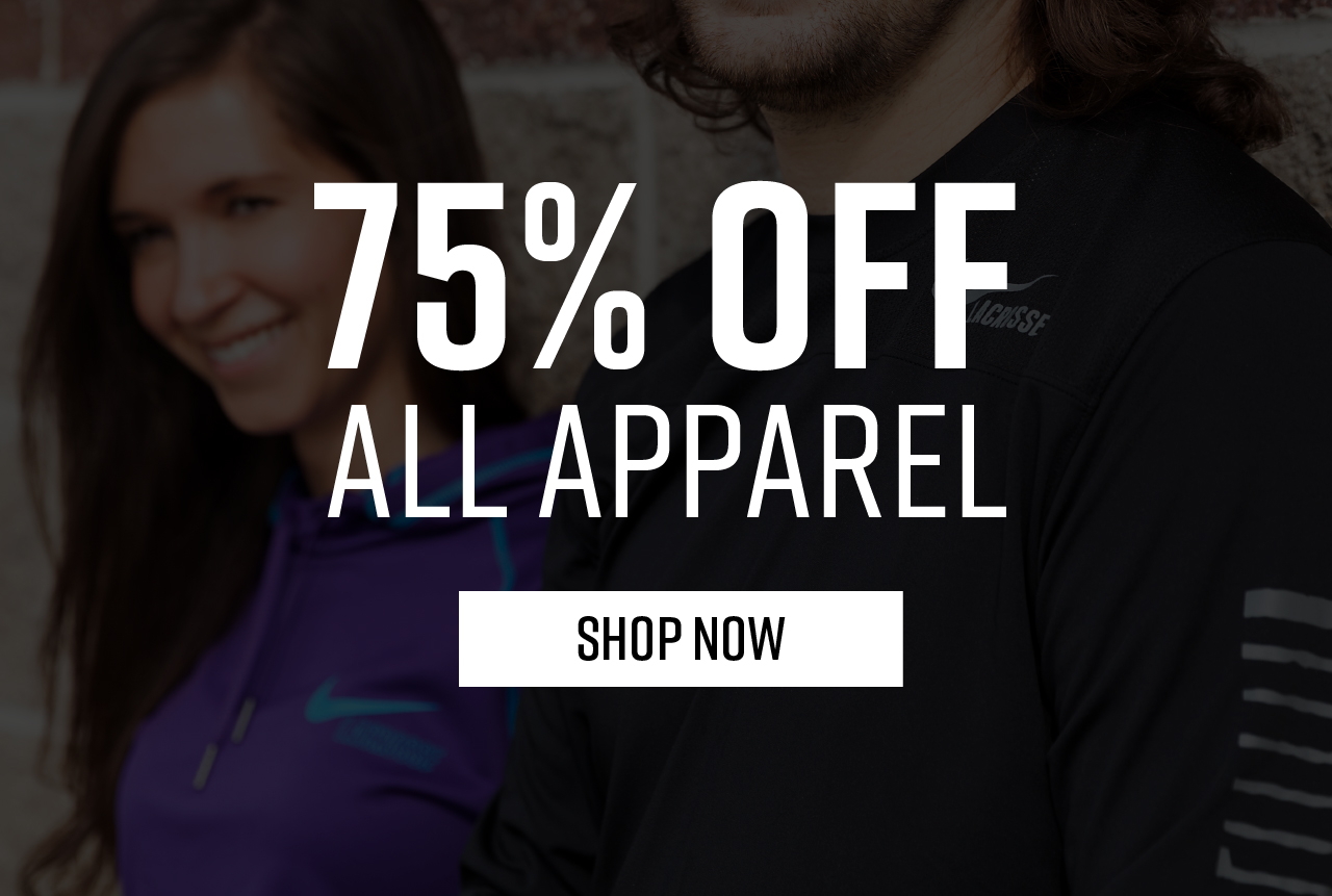 75% Off All Apparel