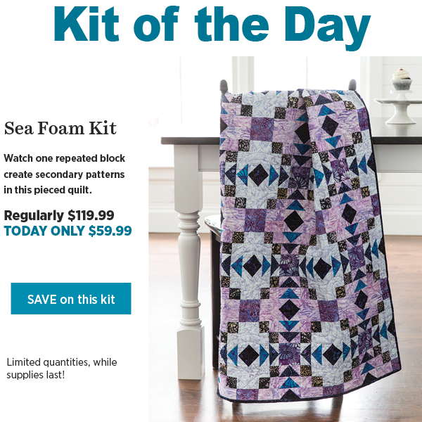Sea Foam Kit, 50% off, $59.99 today only