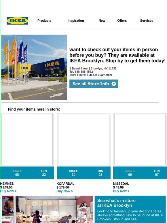 Ikea Find What Youre Looking For At Ikea Brooklyn Milled