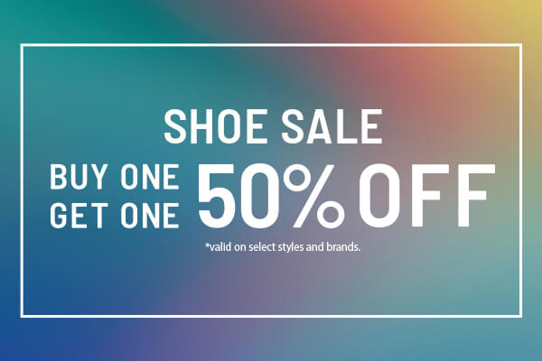 Buy 1 Get 1 50% OFF SHOES - SHOP SALE