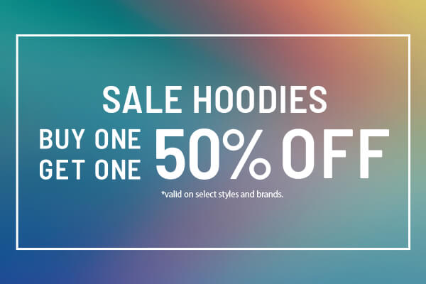 Buy 1 Get 1 50% OFF HOODIES - SHOP SALE