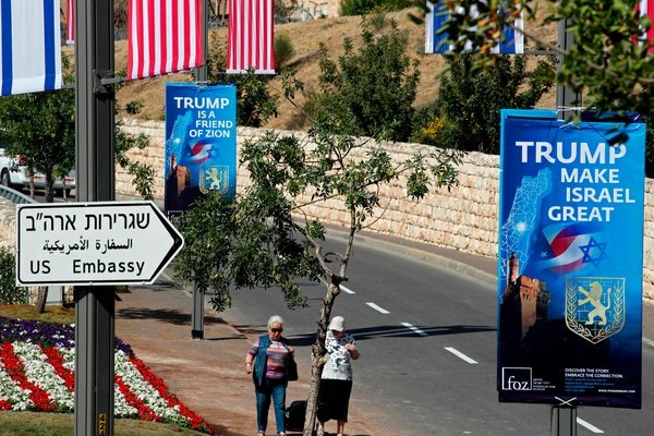 The U.S. will formally move its embassy in Israel to Jerusalem from Tel Aviv today. Ivanka Trump, President Trump's daughter, and Jared Kushner, his son-in-law, are among the high-ranking American representatives who will attend the opening ceremony.