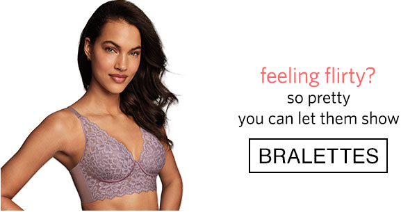 Shop Bralettes - Turn on your images