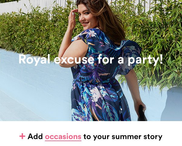 + Add occasions to your summer story