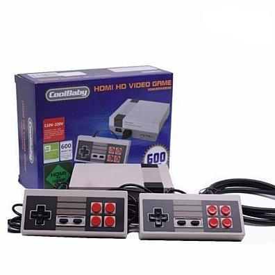 Retro Classic Mini HD Video Game Machine with 600 Games