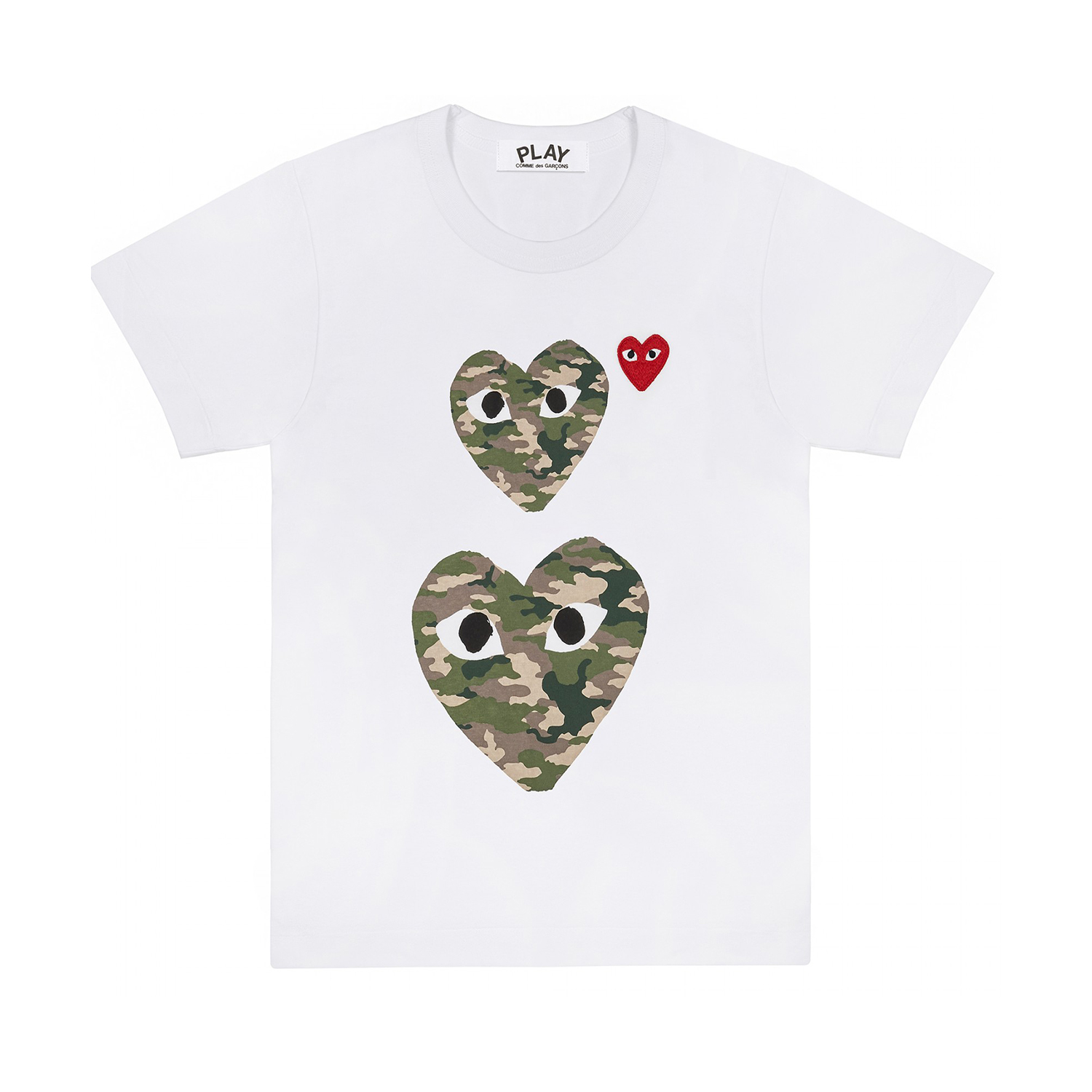 eefa9bd7 New arrivals from CDG Play, including t-shirts featuring camouflage and  polka-dot filled CDG Play logos. Now available at the Billionaire Boys Club  NYC ...