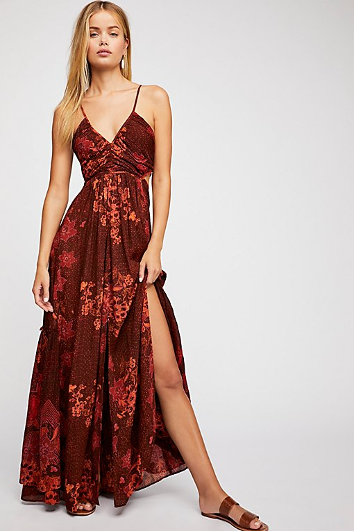 Need This Printed Maxi Dress