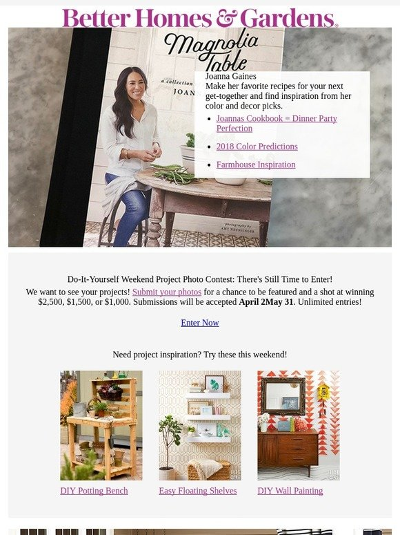 Better homes and gardens this month were loving joanna gaines better homes and gardens this month were loving joanna gaines pretty porches diy everything milled solutioingenieria Gallery