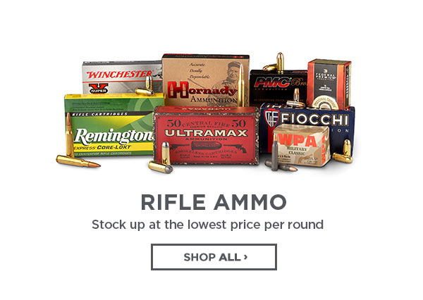 Rifle Ammo. Stock Up At The Lowest Prices Per Round.