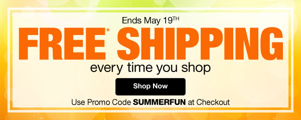 Free Shipping Everytime You Shop
