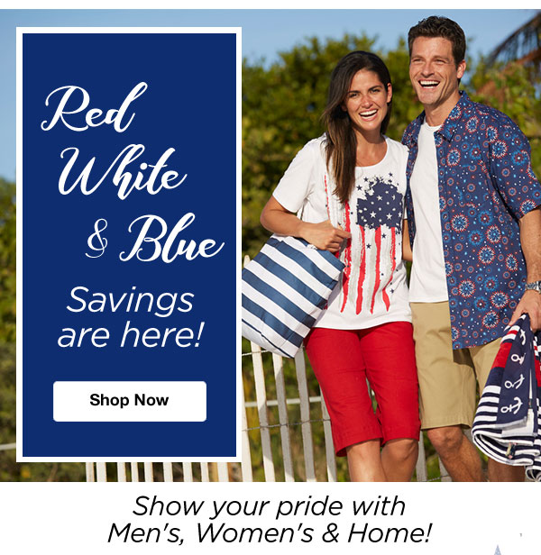 Red White & Blue Savings are Here