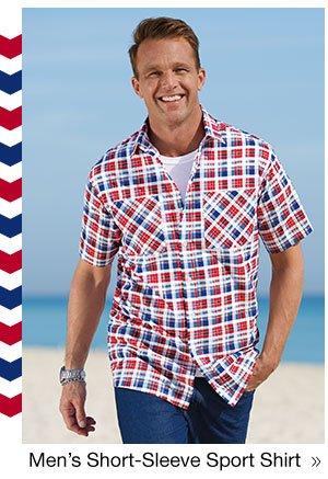 Men's Signature Short-Sleeve Sport Shirt