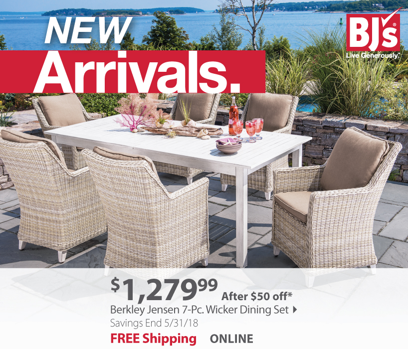 Berkley Jensen 7 pc Wicker Set
