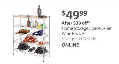 Home Storage Wine Rack