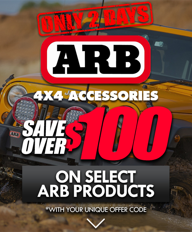 Save Over $100 on Select ARB Products