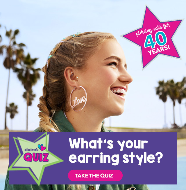 Claire S Happy National Ear Piercing Day B1g1 Free Sale Milled