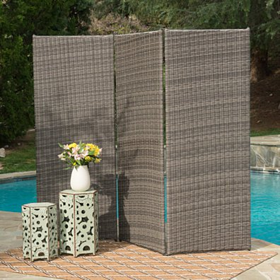 Osage Outdoor Wicker Privacy Screen