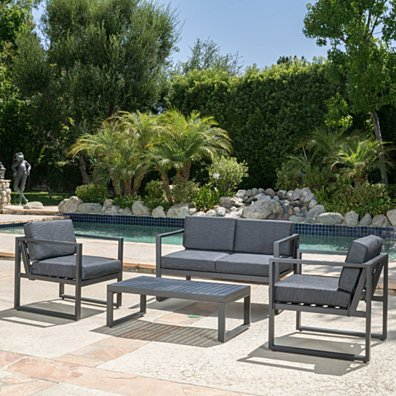 Nealie 4pc Outdoor Sofa Seating Set