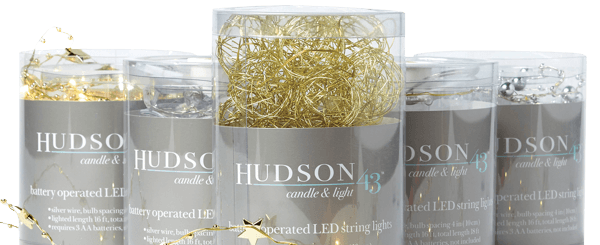 70% off Your Total Purchase of Hudson 43 Rice Lights.