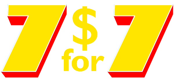 7 for $7.