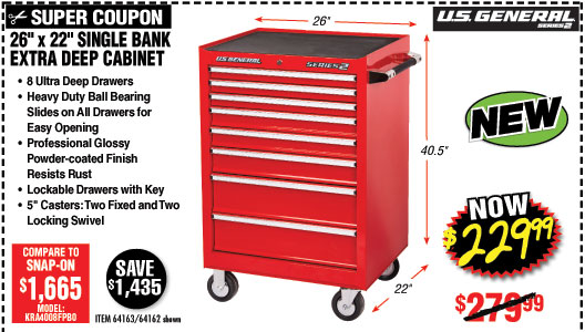 Harbor Freight: NEW PRODUCT ALERT • U S  General Series 2 is