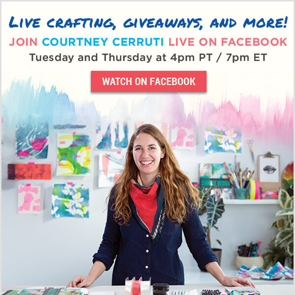 Learn With CreativeBug Facebook Live: Life-Coaching for Artists with Tara Mohr. LIKE US TO GET NOTIFIED.