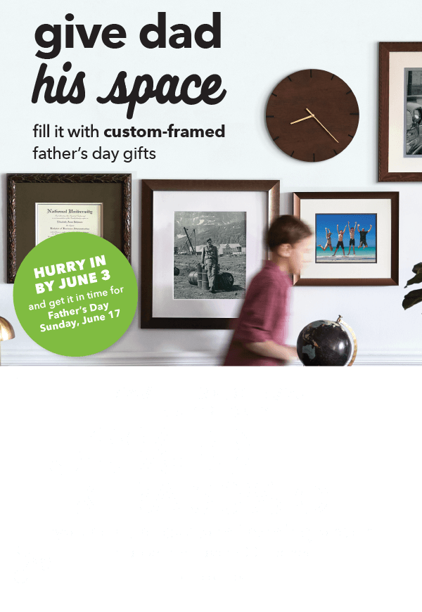 In-Store Only, Save through 5/23. 50% off + extra 30% off Your Entire Custom Framing Order. Choose from over 400 Frames. GET COUPON.