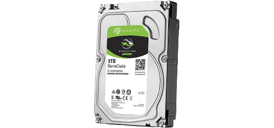 Disque Dur SEAGATE BarraCuda 3 To - 79,90