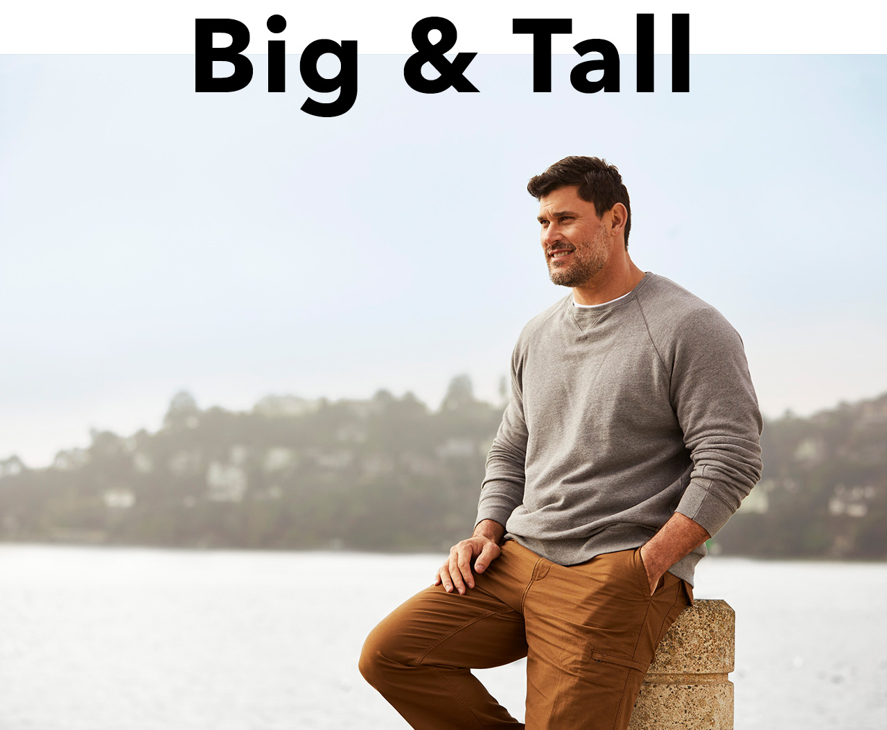 SHOP OUR FAVORITE BIG & TALL DOWNTIME KHAKI