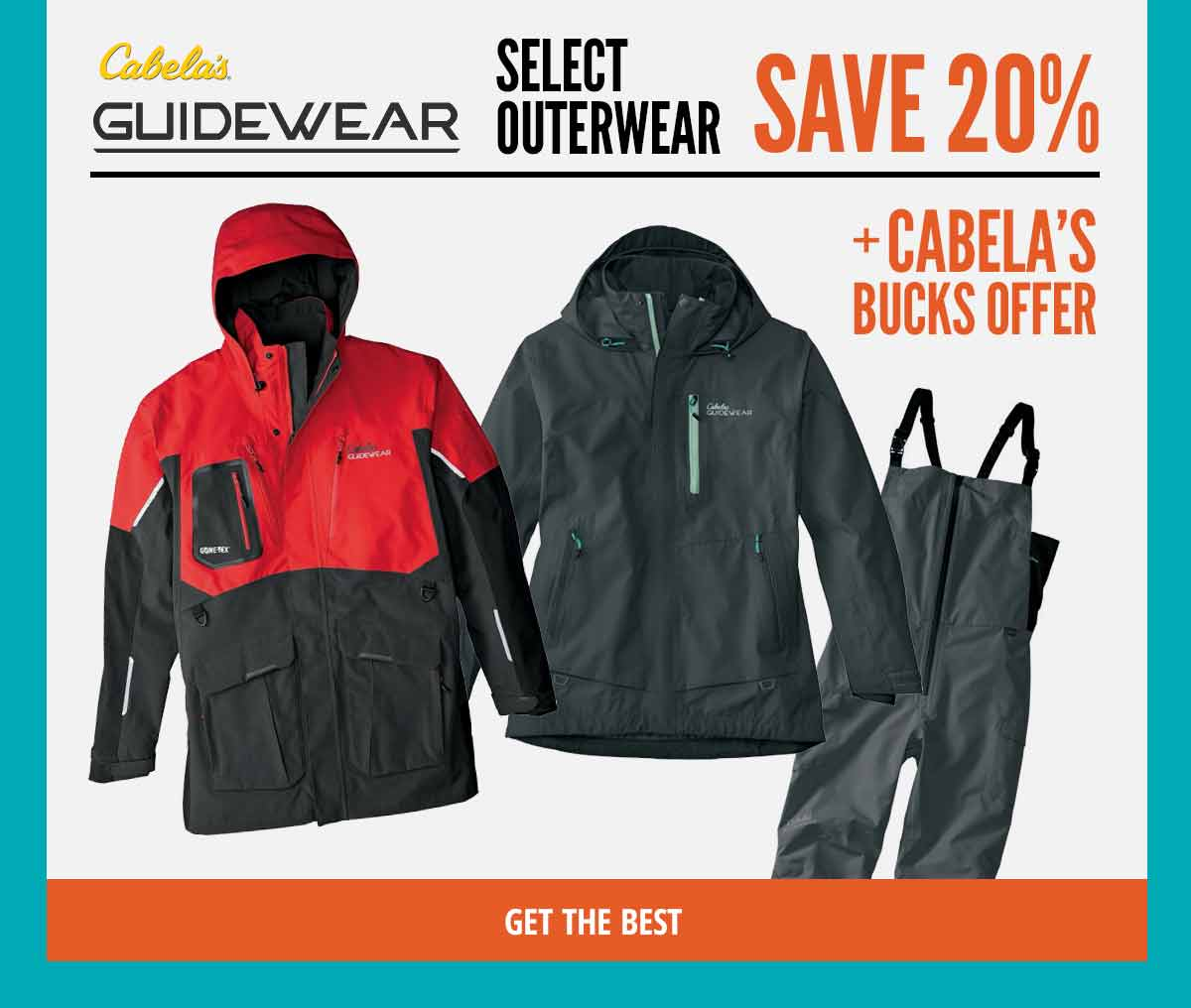 Save 20% on Guidewear
