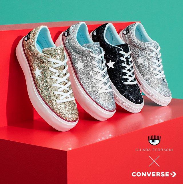 Nike plus +: Converse x Chiara Ferragni