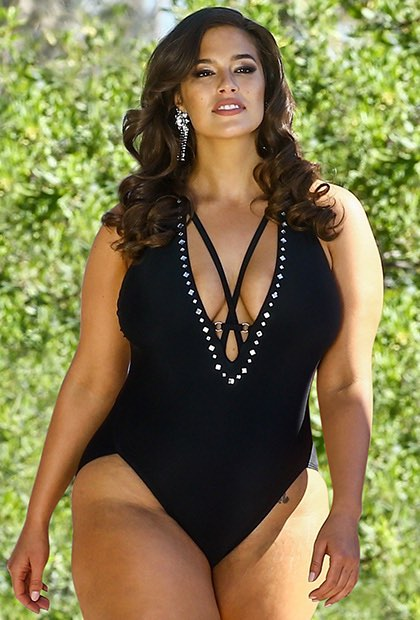 40ccda53400e5 Ashley Graham x Swimsuits For All Flapper Swimsuit