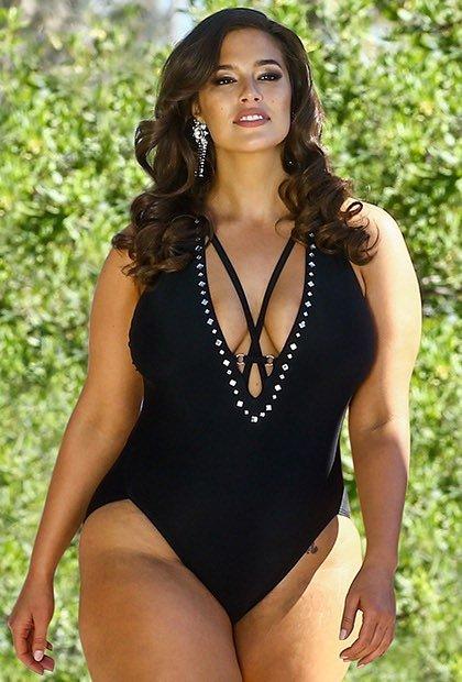 1b7c557170e6 Ashley Graham x Swimsuits For All Flapper Swimsuit