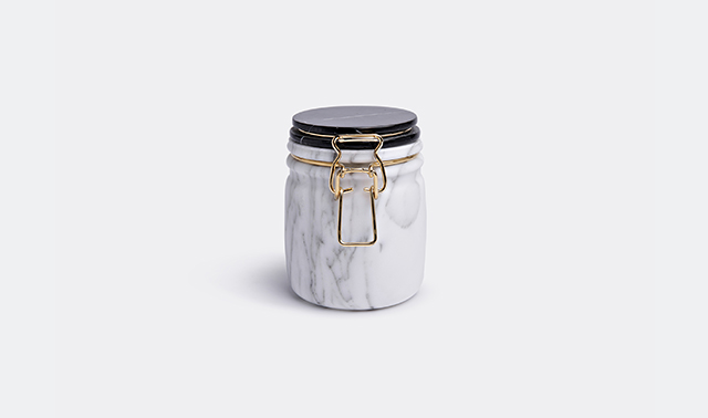 'Miss marble' jar by Lorenza Bozzoli for Editions