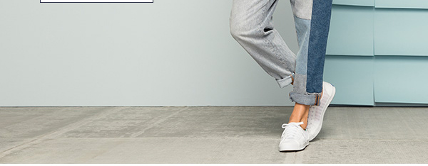Make your go-to looks feel brand new again with bright white sneakers