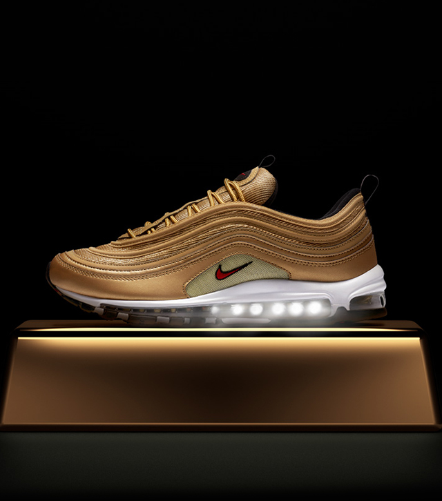 d6925465b7 Nike: The Air Max 97 Gold for Kids | Milled