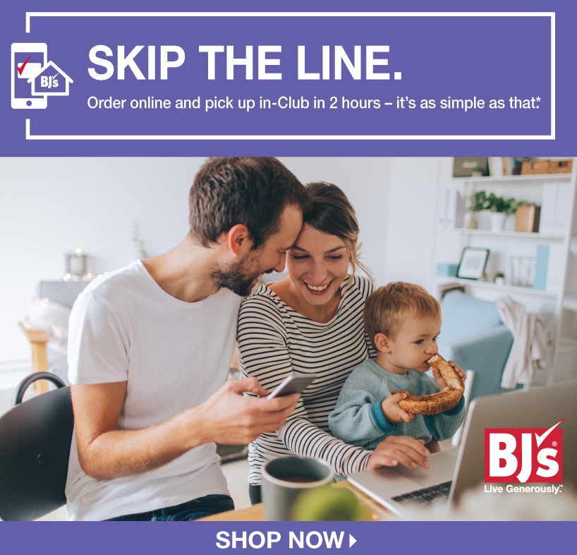 BJs Wholesale Club: Order online, pick up in-Club - it's that easy