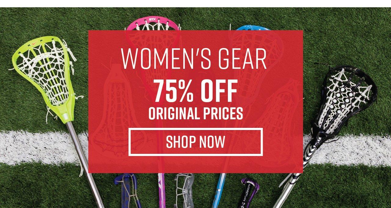 75% Off Women's Gear!