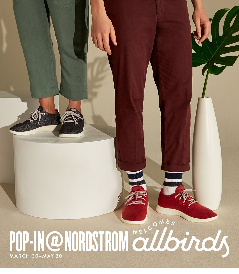92a42d80aac Nordstrom  Last chance  our Allbirds Pop-In ends soon