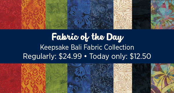 Fabric of the day: KQ Balis