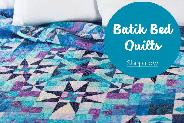 Batik Bed Quilts