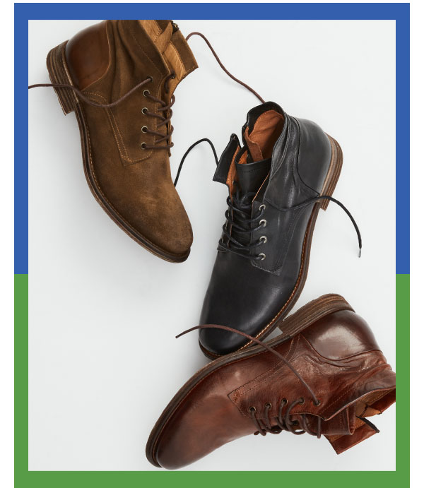Rough Rider: Time for boot camp. Shop CORDOVA