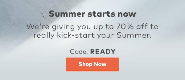 Summer Ready Sale