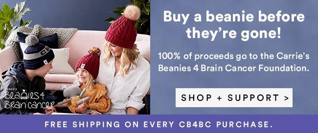 Shop Beanies 4 Brain Cancer