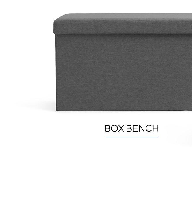 Shop Box Bench
