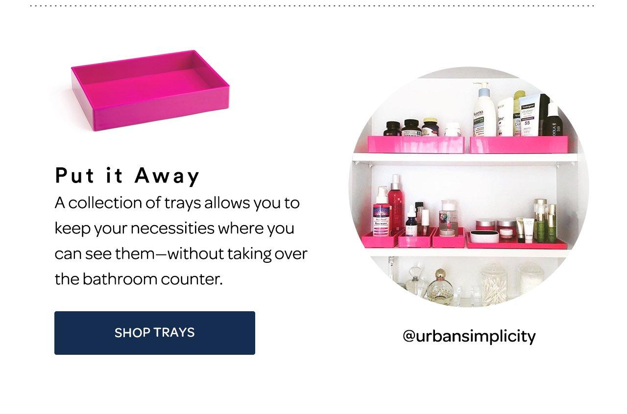 Shop Trays
